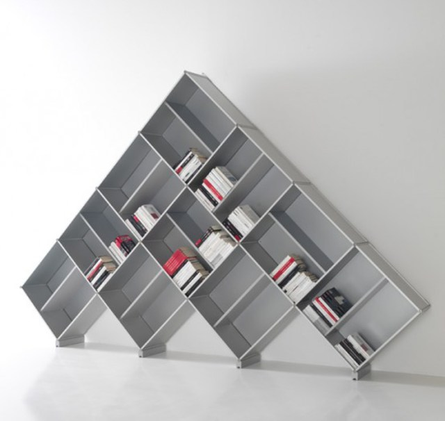One of 5 total Photos Decorative Wooden Bookcase Designs by Fitting