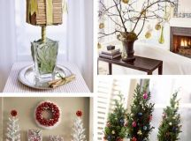 christmas holiday decorating ideas 2017 - Grasscloth Wallpaper