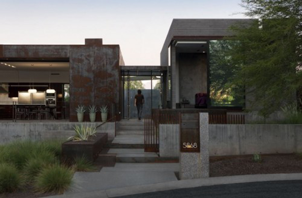 modern arizona dream home design  Irooniecom