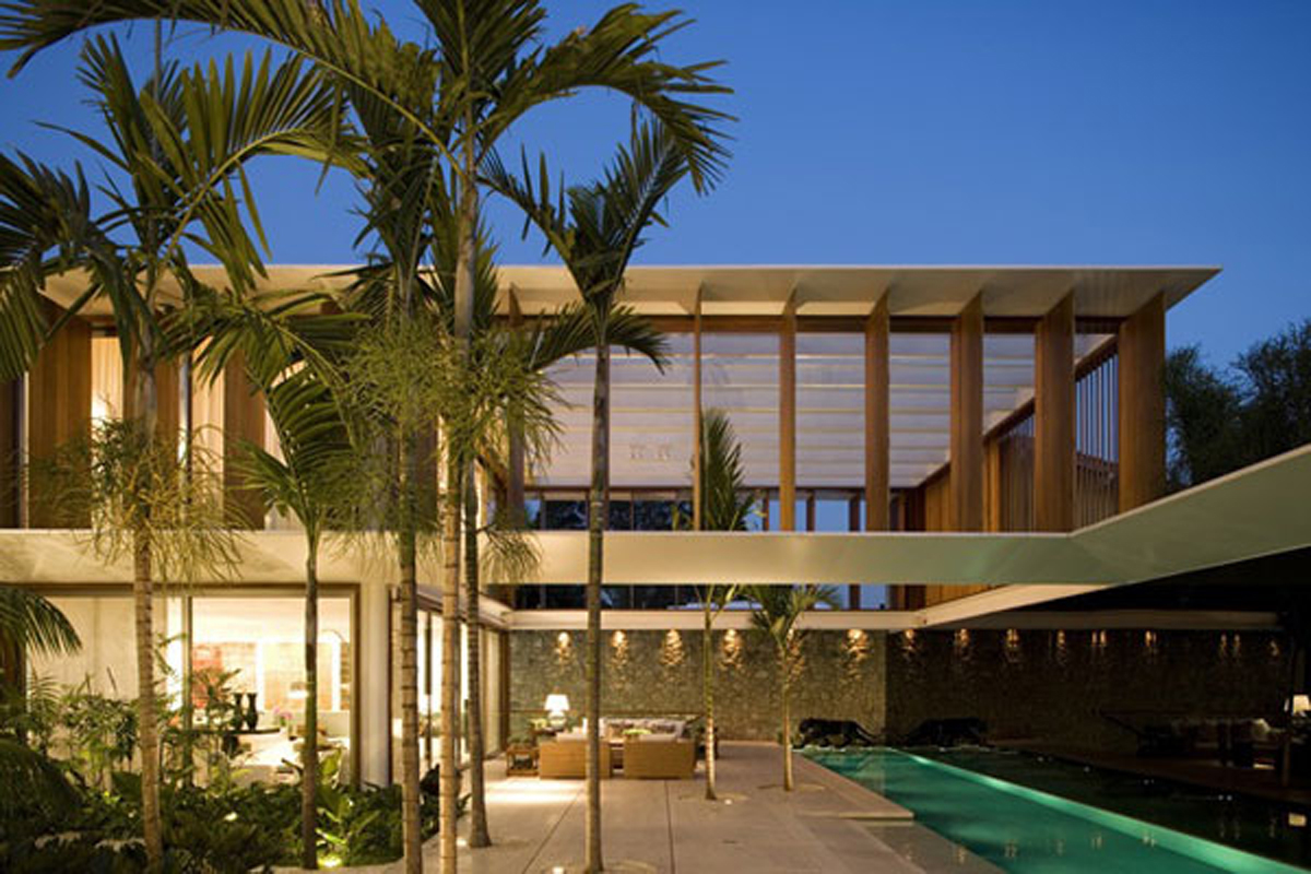 exotic tropical residence designs  Irooniecom