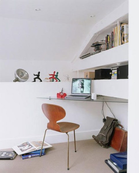 simple home office design ideas simple home office designs - Iroonie.com