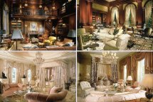 Gold Luxury Dream House Interior