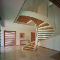 wooden spiral staircase layouts - Iroonie.com
