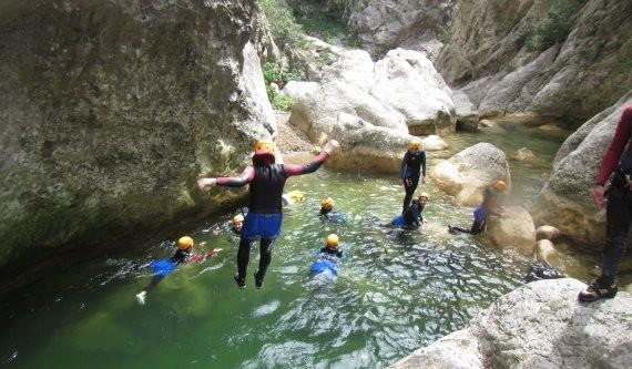 Canyoning à Moltig avec Extérieur nature