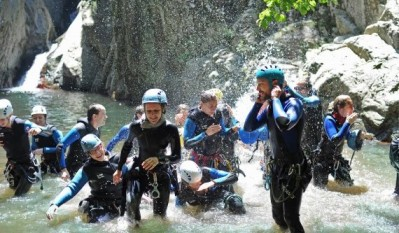Canyoning Gourg des Anelles