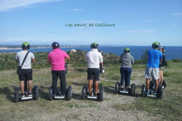 The Green Way Les hauts de Collioure