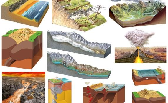paesaggio della geologia, goethe