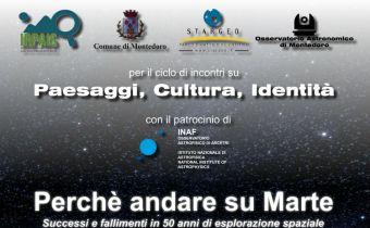Astrobiologia, Osservatorio Astronomico, Montedoro, IRPAIS, John Robert brucato, valorizzazione delle aree interne