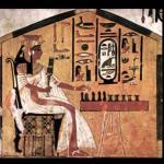 La scacchiera nell'antico Egitto