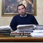 VIDEO/Covid-19, il sindaco Pelosi fa il punto sulla situazione nel Serinese
