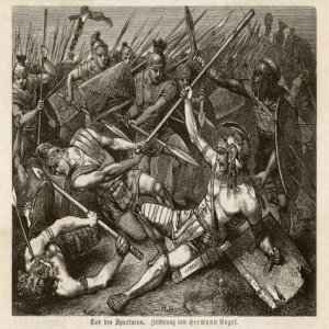 Spartacus caposele Sconfitta di Spartaco