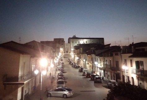 Castello di Taurasi serale