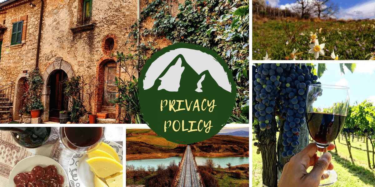 Irpinia World Privacy Policy