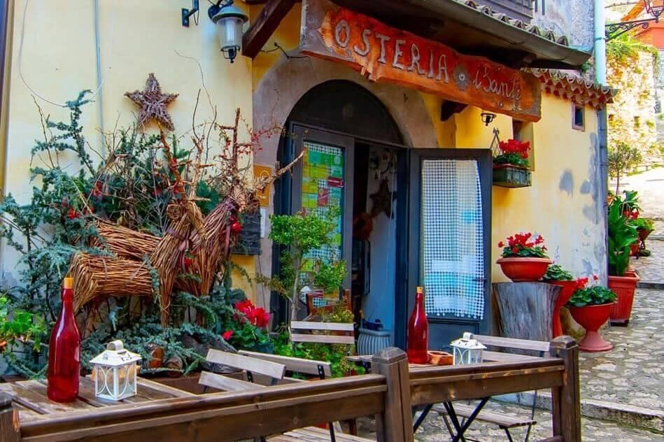 osteria i santi mercogliano migliori ristoranti in Irpinia