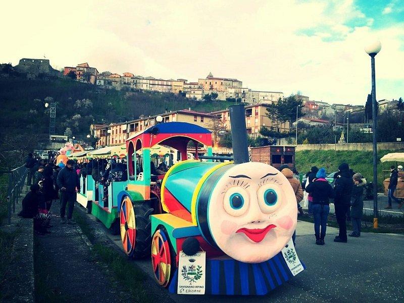 Trenino Carnevale Savignano