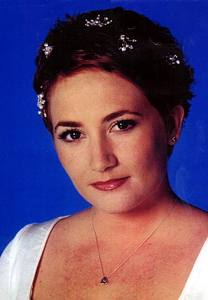show biz soap weddings tiaras worn in eastenders coronation street emmerdale