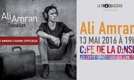 En exclusivité: la nouvel chanson de Ali Amran – Aeddan Wussan – 2016