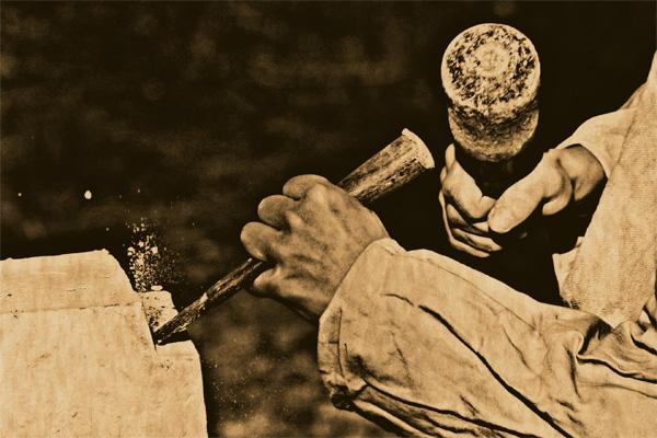 Conte Kabyle: Le tailleur de pierres (Anedjar b ouvladh)