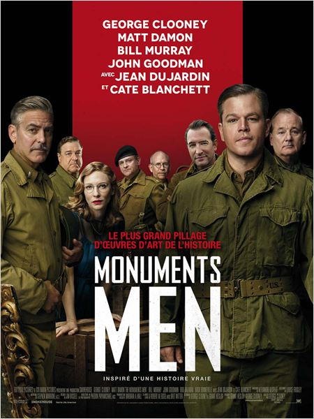 "affiche du film ""Monuments Men"""