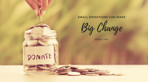 Small Donations Big Change giving tuesday