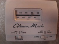 Coleman Mach Thermostat Replacement - iRV2 Forums
