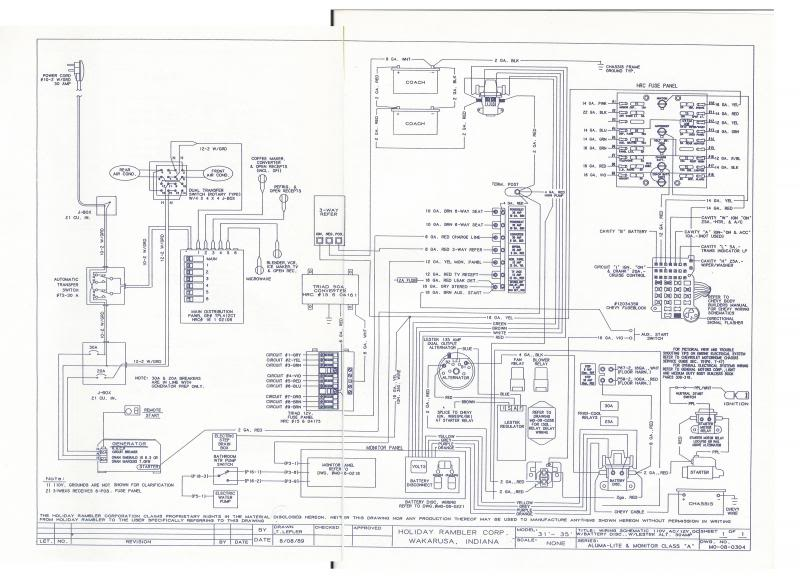 forest river rv wiring diagrams single phase to 3 motor diagram help needed - irv2 forums