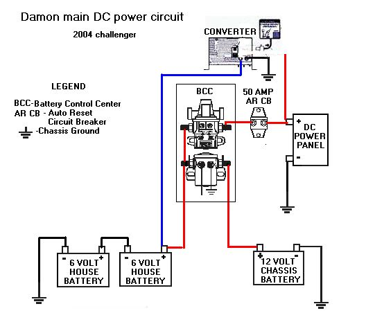 Damon Wiring Diagram