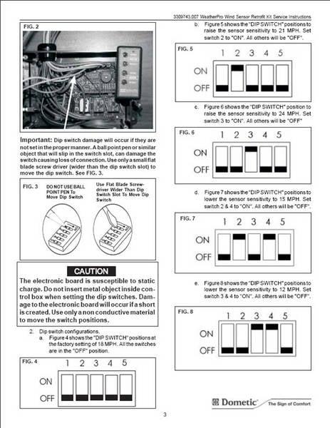 Dometic Weatherpro Awning Parts Wiring Diagram : 46 Wiring