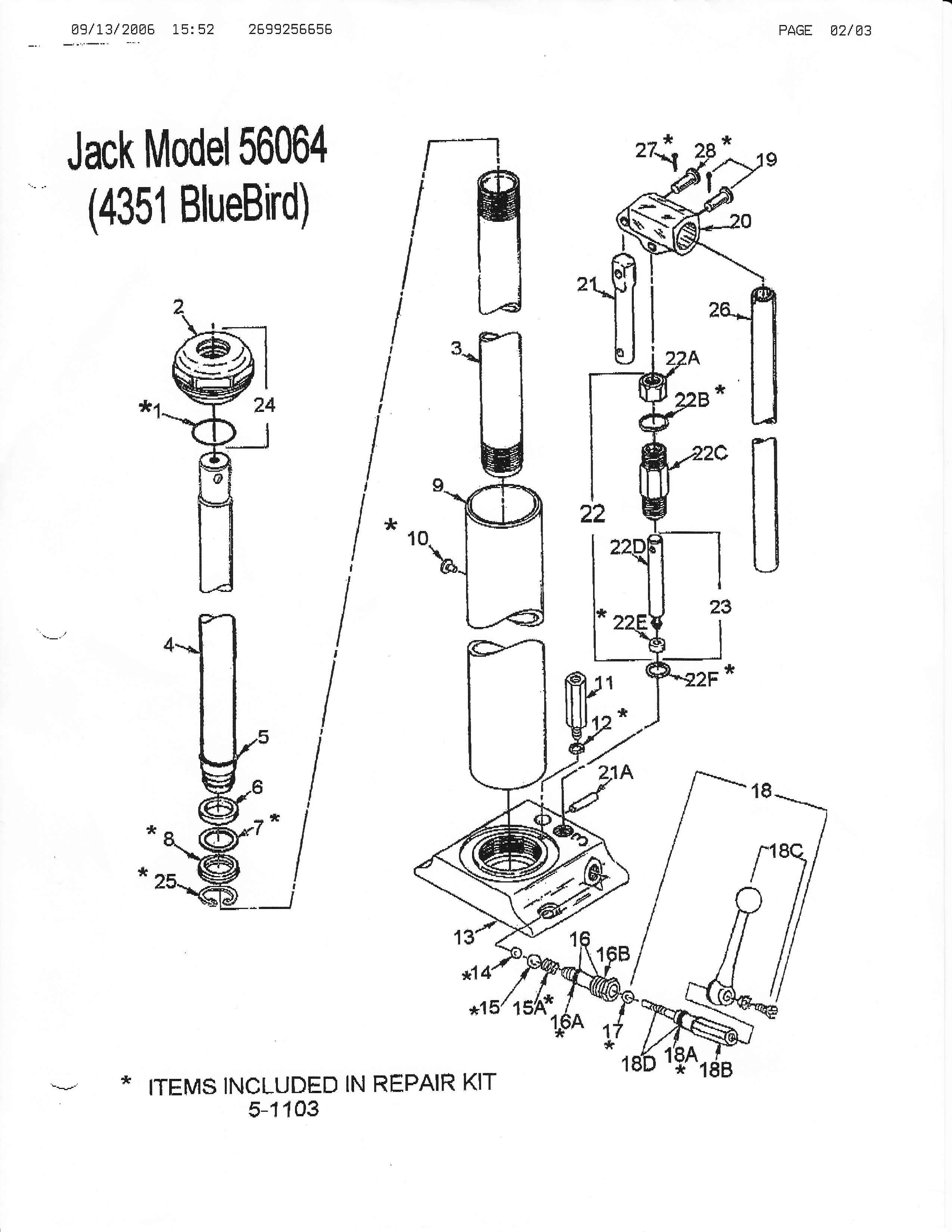 blackhawk floor jack parts diagram 2004 ford explorer xlt radio wiring lincoln free engine image for