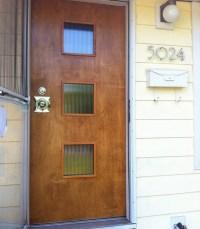 mid century modern front doors
