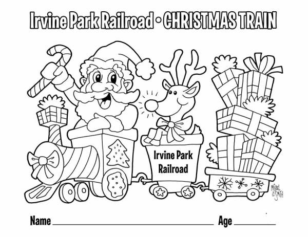 train coloring pages # 47