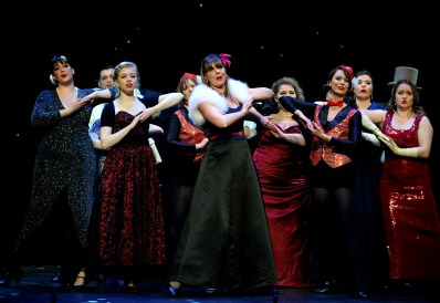 The Irving Stage Company production of The Producers at the Theatre Royal in Bury St Edmunds. PICTURE ANDY ABBOTT