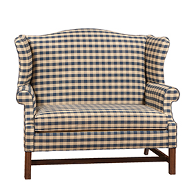 country style wingback chairs office under 50 dollars colonial couches sofas recliners irvins tinware