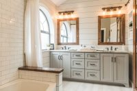 Modern Farmhouse Bathroom Before & After - Irwin Construction