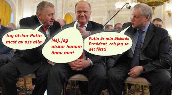 alla älskar Putin