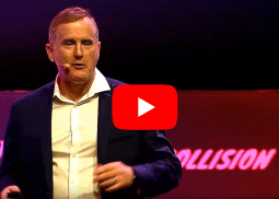 Simon Morris at Collision Conference 2019
