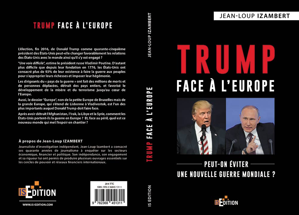 "Couverture ""Trump face à l'Europe"""