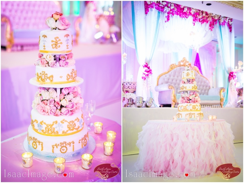 indian wedding decor cake