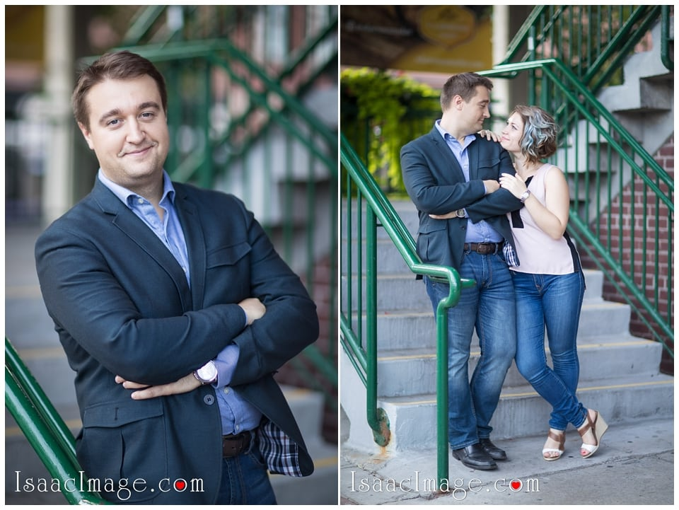 Distillery district Toronto engagement photo session Alexandra and Konstantine_0216.jpg