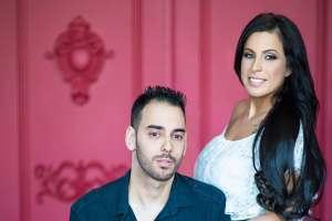 Toronto Mint Room Studios Engagement session Amos and Alina
