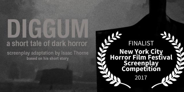DIGGUM Finalist in NYC Horror Film Festival