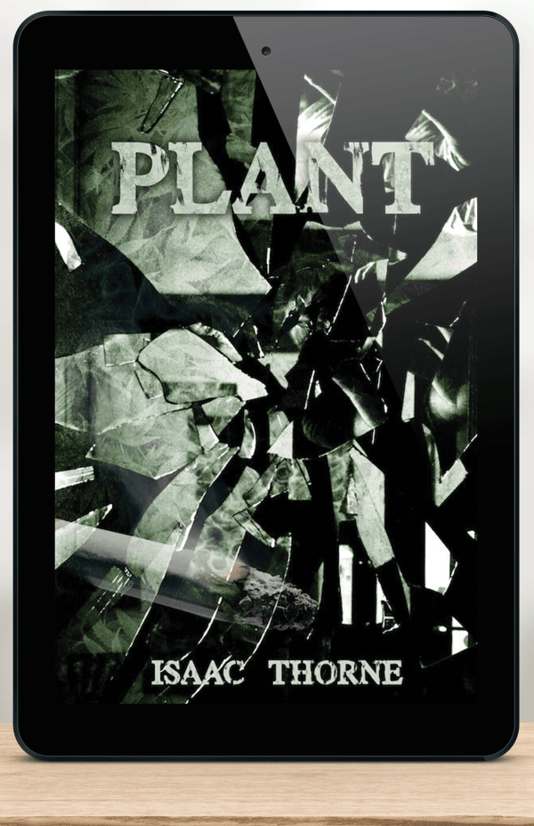 iPad featuring the cover of PLANT