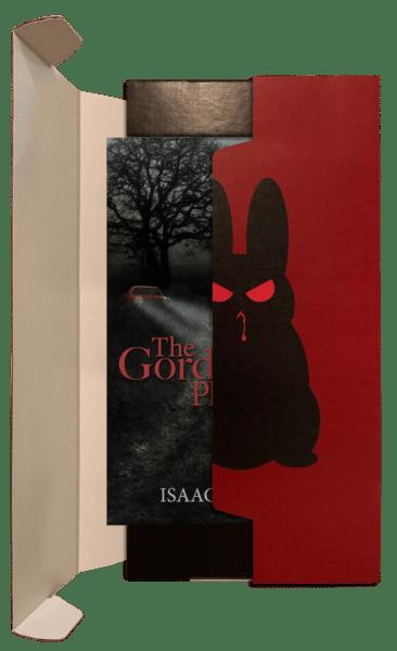 'The Gordon Place' inside an evil bunny box.