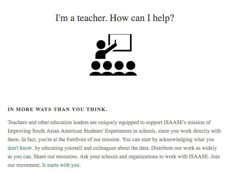 How can teachers help support South Asian American students