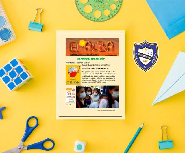 Periódico Escolar por Alumnos de 3º de Secundaria