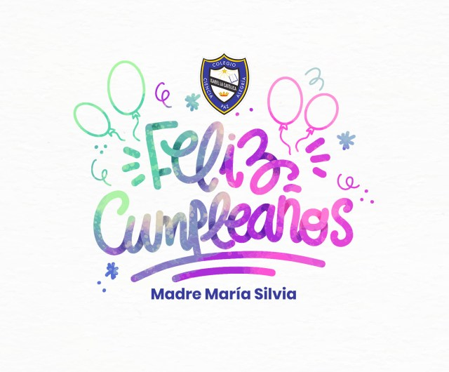 Cumpleaños Hna. María Silvia