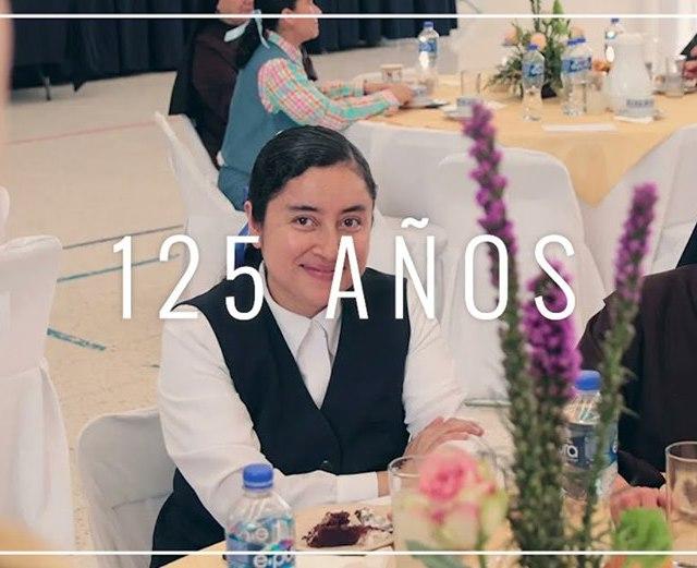 Celebramos el inicio de los 125 años de fundación de nuestra Congregación