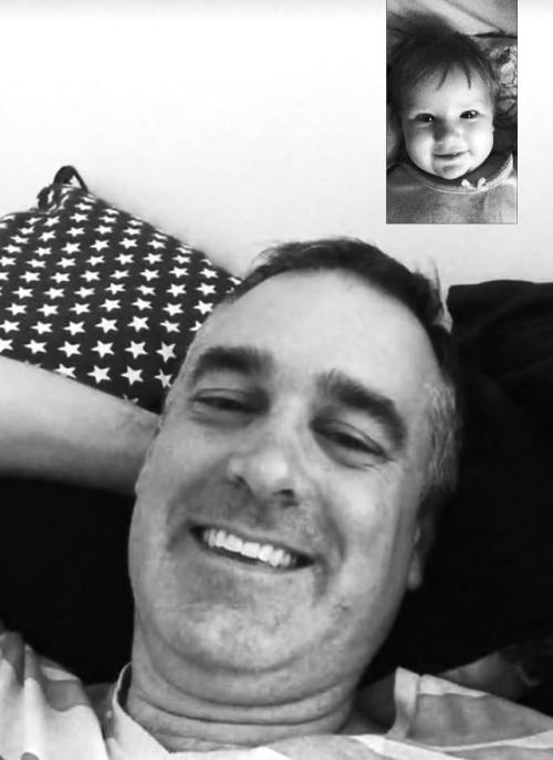 Facetime with Dad!