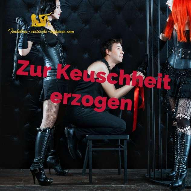 """Bild zur erotischen Hypnose """"Zur Keuschheit erzogen"""""""