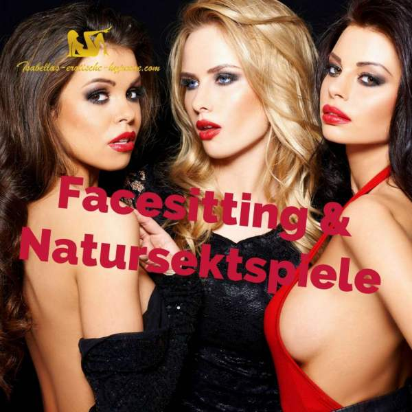 """""""Facesitting und Natursektspiele"""" ist eine erotische Hypnose von Lady Isabella. Das ist das Bild mit einem Link zur Verkaufsseite."""